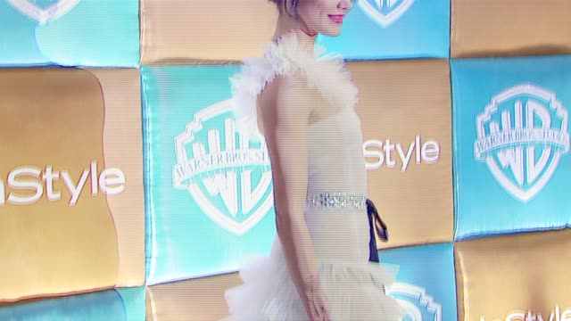 stockvideo's en b-roll-footage met cameron diaz at the in style magazine and warner brothers annual golden globes party at the beverly hilton in beverly hills california on january 15... - golden globe awards