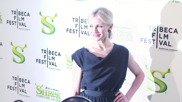 Cameron Diaz at the 'Shrek Forever After' Opening Night Premiere 9th Annual Tribeca Film Fest at New York NY