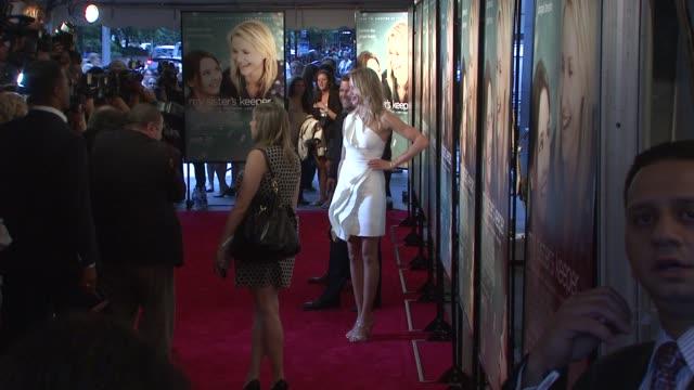 Cameron Diaz at the World Premiere of My Sister's Keeper at New York NY