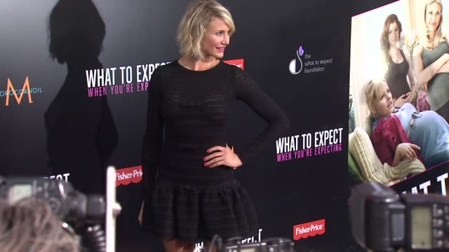 Cameron Diaz at What To Expect When You're Expecting Los Angeles Premiere on 5/14/2012 in Hollywood CA