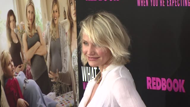 Cameron Diaz at What To Expect When You're Expecting New York Premiere at AMC Lincoln Square Theater on May 08 2012 in New York New York