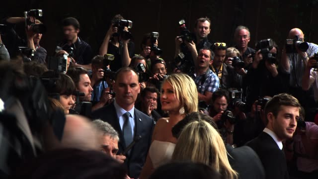 Cameron Diaz at What To Expect When You're Expecting UK premiere at BFI IMAX on May 22 2012 in London England