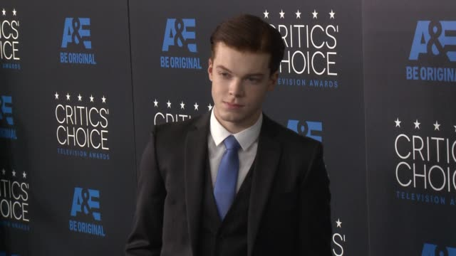 vidéos et rushes de cameron monaghan at the 2015 critics' choice television awards at the beverly hilton hotel on may 31, 2015 in beverly hills, california. - the beverly hilton hotel