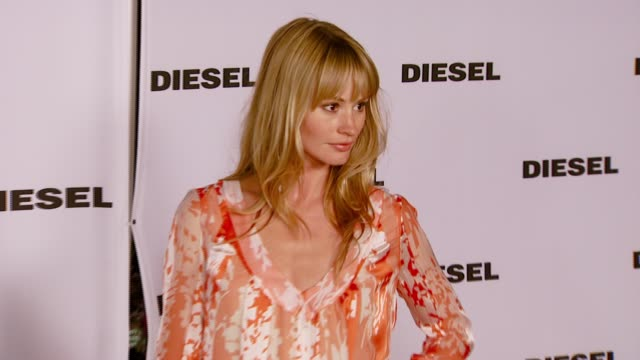 cameron richardson at the diesel celebrates the opening of the melrose place flagship store at diesel melrose place in los angeles california on may... - store opening stock videos & royalty-free footage