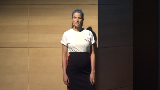 SPEECH Cameron Russell on working with predators on consenting versus tolerating on there being alternatives at Glamour's Women Of The Year LIVE...