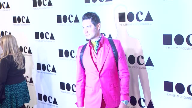cameron silver at the the museum of contemporary art los angeles presents the annual moca gala at los angeles ca - los angeles museum of contemporary art stock videos and b-roll footage