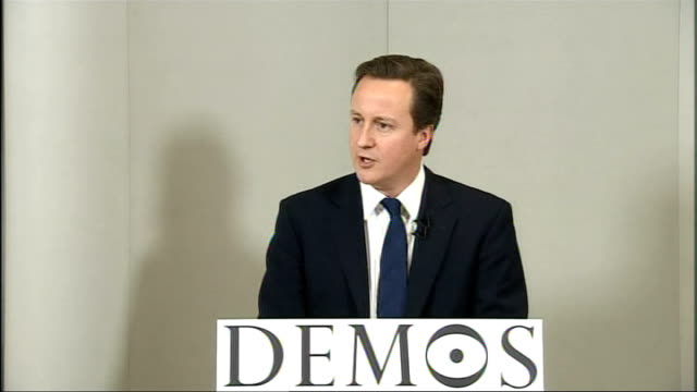 vídeos de stock, filmes e b-roll de cameron speech at demos on creating a responsible society england london int david cameron mp speech sot since i was elected leader of the... - self discipline
