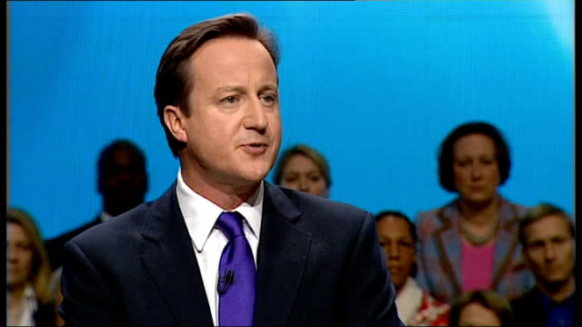 vídeos de stock e filmes b-roll de cameron speech sot - i know about the mothers and the wives, the husbands and the children, counting the minutes between the news bulletins, dreading... - partido conservador britânico