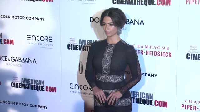 camila alves at the 28th american cinematheque award honoring matthew mcconaughey at the beverly hilton hotel on october 21 2014 in beverly hills... - american cinematheque stock videos & royalty-free footage