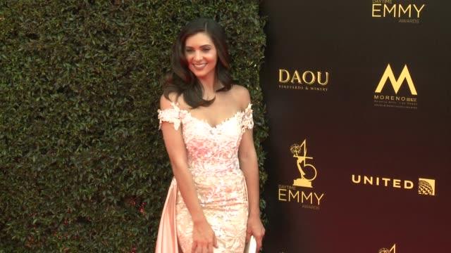 Camila Banus at the 2018 Daytime Emmy Awards at Pasadena Civic Auditorium on April 29 2018 in Pasadena California