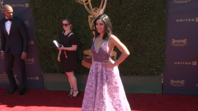 Camila Banus at the 44th Annual Daytime Emmy Awards at Pasadena Civic Auditorium on April 30 2017 in Pasadena California