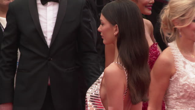 camila morrone at 'the best years of a life ' red carpet arrivals the 72nd cannes film festival on may 18 2019 in cannes france - cannes video stock e b–roll