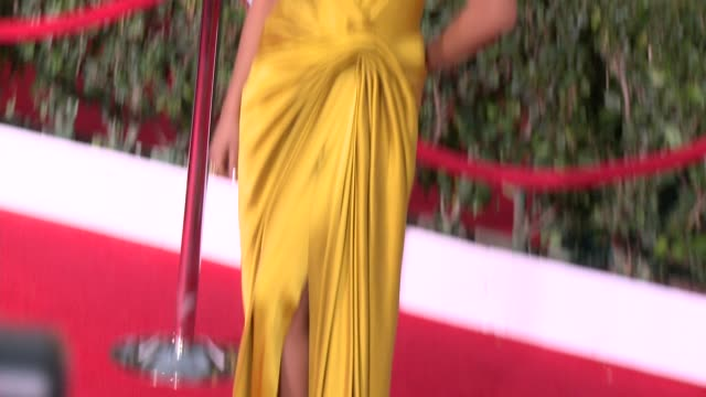 camilla alves matthew mcconaughey at 20th annual screen actors guild awards arrivals at the shrine auditorium on in los angeles california - シュラインオーディトリアム点の映像素材/bロール