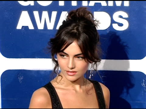 camilla belle at the ifp's 15th annual gotham awards arrivals at pier 60 at chelsea piers in new york new york on november 30 2005 - chelsea piers stock videos & royalty-free footage