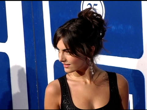 camilla belle at the ifp's 15th annual gotham awards arrivals at pier 60 at chelsea piers in new york, new york on november 30, 2005. - independent feature project video stock e b–roll