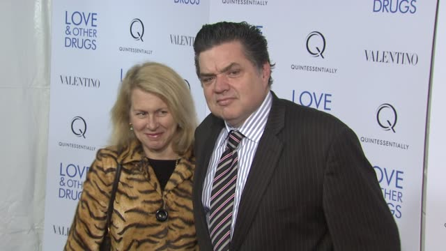 camilla campbell and oliver platt at the 'love and other drugs' new york screening at new york ny - oliver platt stock videos & royalty-free footage