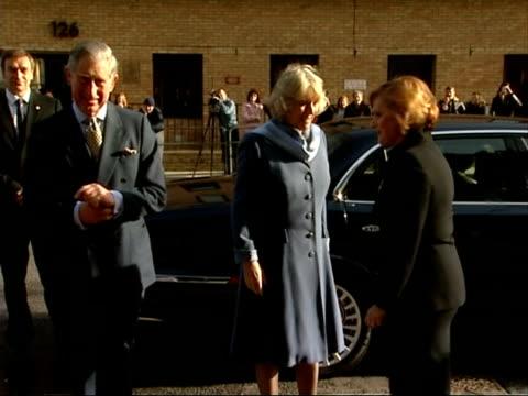 Camilla Duchess of Cornwall and Prince Charles visit Jewish Museum ENGLAND London Jewish Museum EXT Prince Charles Prince of Wales and Camilla...