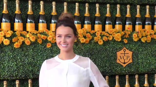 Camilla Luddington at the sixth annual Veuve Clicquot Polo Classic at Will Rogers Historic State Park in Pacific Palisades at Celebrity Sightings in...