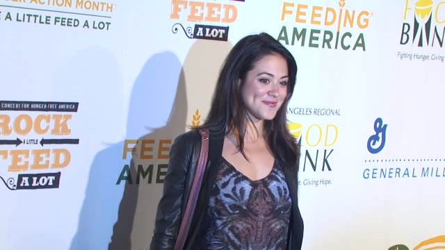 Camille Guaty at the 'Rock A Little Feed A Lot' Benefit Concert at Los Angeles CA