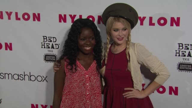 Camille Winbush Renee Olstead at NYLON 13th Anniversary Issue Celebration on 4/10/12 in West Hollywood CA