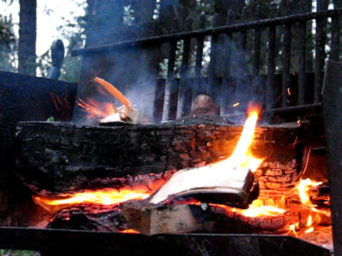 camp fire - named wilderness area stock videos & royalty-free footage