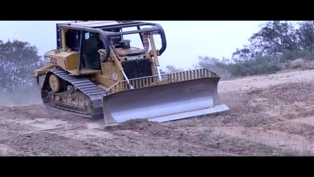 camp pendleton, cal fire, and orange county firefighters excavate fire breaks on camp pendleton, california; b-roll of various heavy equipment... - base camp stock videos & royalty-free footage