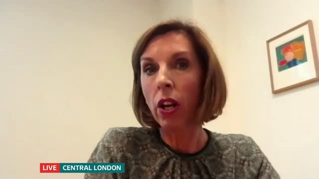 campaigners call on businesses to better support women living with the side effects of menopause; england: london: gir: int fay reid live 2-way... - itv lunchtime news stock videos & royalty-free footage