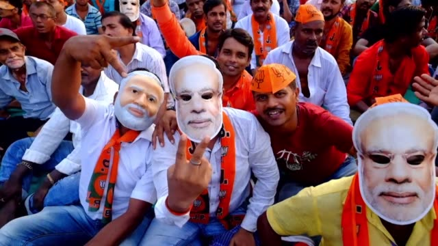 campaigning in the key indian city of kolkata is cut short as clashes between followers of prime minister narendra modi and a firebrand opposition... - west bengal stock videos and b-roll footage