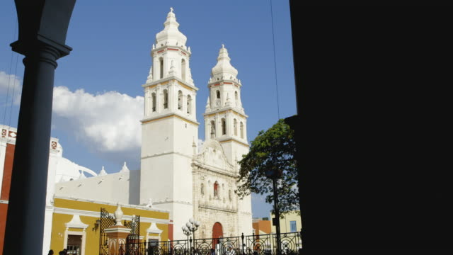 DS, WS Campeche Cathedral / Campeche, Mexico