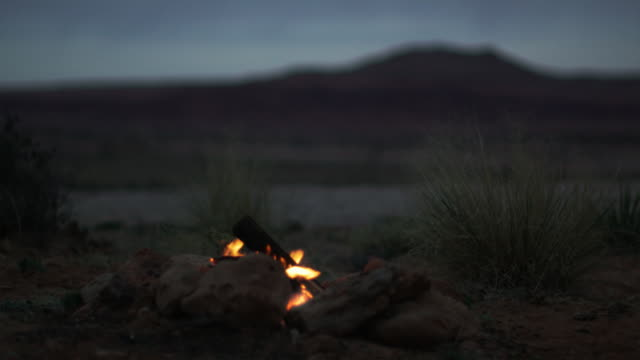 campfire burning - camp fire stock videos & royalty-free footage