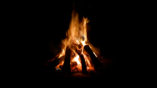 Campfire Loop, Centered (HD, w/Sound)