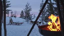 DS Campfire somewhere in far northeastern Norway