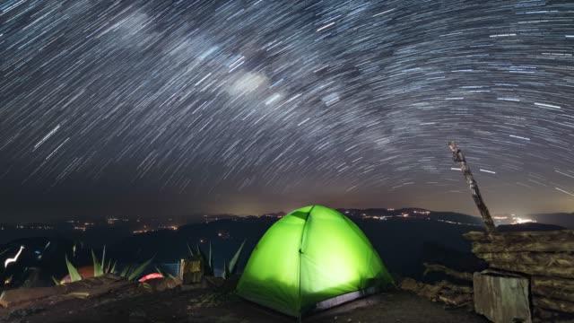 メキシコでのキャンプ