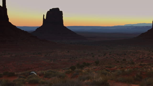 camping in monument valley - mitten stock videos and b-roll footage