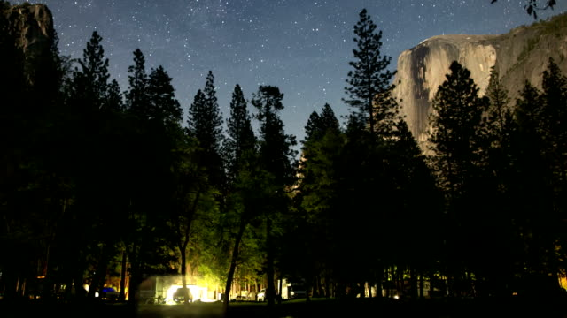 Camping in Yosemite Valley