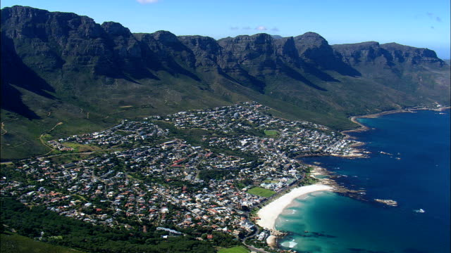 camps bay - Aerial View - Western Cape,  South Africa