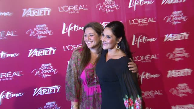 camryn manheim and ricki lake at the variety's 3rd annual 'power of women' luncheon at beverly hills ca. - camryn manheim stock videos & royalty-free footage