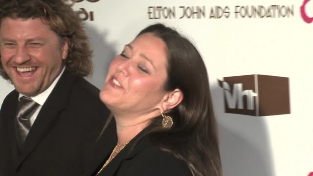 camryn manheim at the 14th annual elton john aids foundation oscar party co-hosted by audi, chopard and vh1 at the pacific design center in west... - camryn manheim stock videos & royalty-free footage