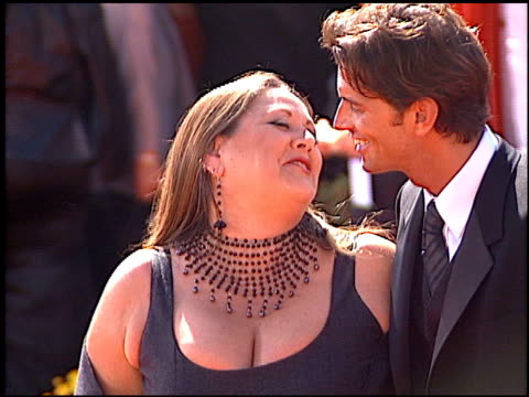 camryn manheim at the 2000 emmy awards at the shrine auditorium in los angeles, california on september 10, 2000. - shrine auditorium video stock e b–roll