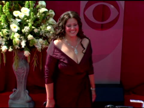 stockvideo's en b-roll-footage met camryn manheim at the 2005 emmy awards at the shrine auditorium in los angeles california on september 18 2005 - 2005