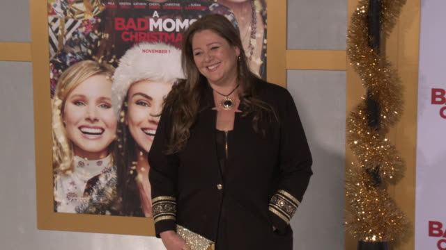 """camryn manheim at the """"a bad moms christmas"""" premiere at regency village theatre on october 30, 2017 in westwood, california. - camryn manheim stock videos & royalty-free footage"""