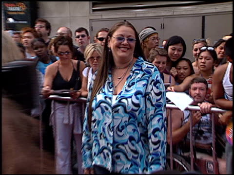Camryn Manheim at the American Idol Finale at the Kodak Theatre in Hollywood California on September 4 2002