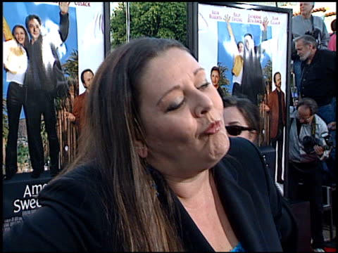 camryn manheim at the 'america's sweethearts' premiere on july 17, 2001. - camryn manheim stock videos & royalty-free footage