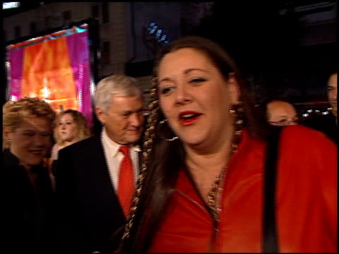 camryn manheim at the 'charlie's angels' premiere at grauman's chinese theatre in hollywood, california on october 22, 2000. - camryn manheim stock videos & royalty-free footage