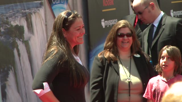 camryn manheim at the disneynature's 'earth' premiere at hollywood ca. - camryn manheim stock videos & royalty-free footage