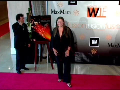 camryn manheim at the fusion, the 2005 crystal and lucy awards presented by women in film at the beverly hilton in beverly hills, california on june... - camryn manheim stock videos & royalty-free footage
