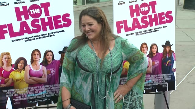 camryn manheim at the hot flashes los angeles premiere on 6/27/2013 in hollywood, ca. - camryn manheim stock videos & royalty-free footage