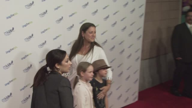 camryn manheim at the jonas brothers to celebrate the launch of 77kids at los angeles ca. - camryn manheim stock videos & royalty-free footage
