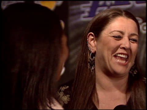 camryn manheim at the los angeles lakers youth foundation at barker hanger in santa monica, california on april 8, 2004. - camryn manheim stock videos & royalty-free footage