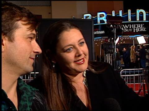 camryn manheim at the 'magnolia' premiere on december 8, 1999. - camryn manheim stock videos & royalty-free footage